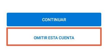 Cómo configurar un correo de empresa en Outlook desde el dispositivo móvil paso 2