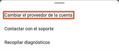 Cómo configurar un correo de empresa en Outlook desde el dispositivo móvil paso 5