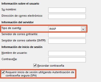 Cómo configurar un correo de empresa en Outlook desde la aplicacion en PC paso 5