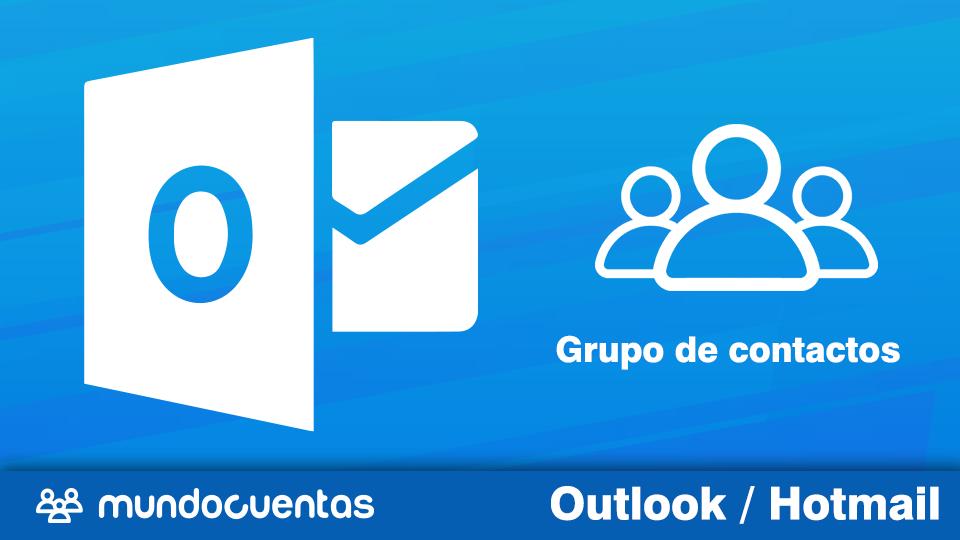 Cómo crear un grupo de contactos en Hotmail
