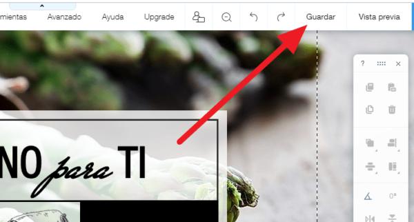 Crear un sitio gratis en wix