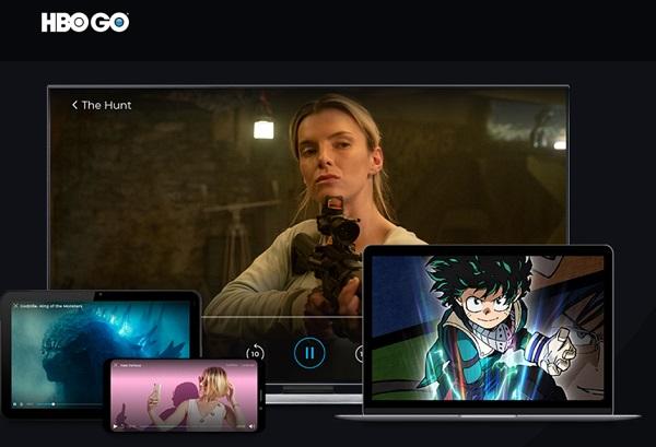 Disposiitivos disponibles en HBO Go