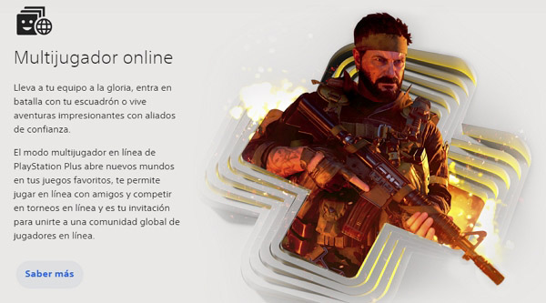 Funciones de PS Plus en PSN