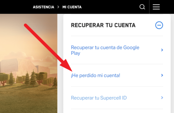 Recuperar aldea de clash of clans