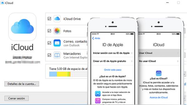 Servicio de almacenamiento iCloud