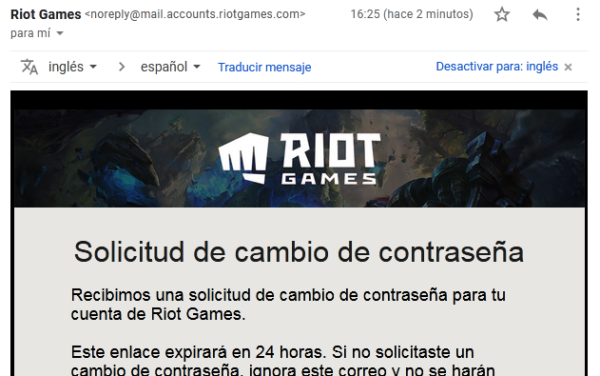 cambiar clave de league of legends