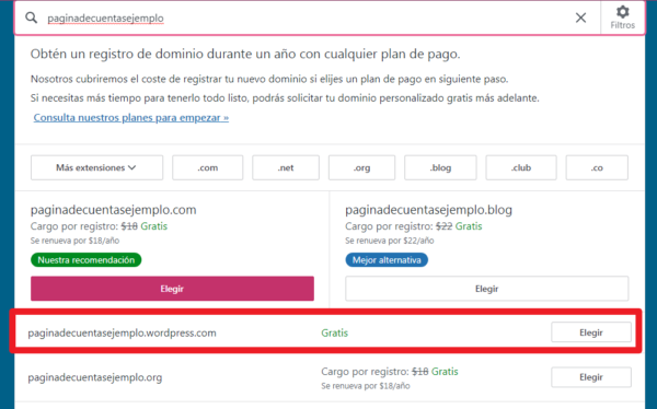 como crear un sitio en wordpress