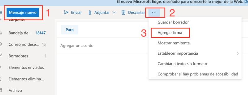 Cómo configurar una firma de Hotmail