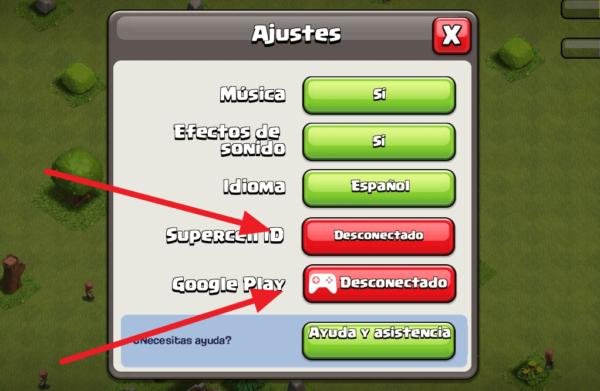 crear cuenta de clash of clans