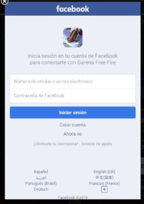 facebook en free fire