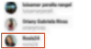 Cómo añadir etiquetas en comentarios de Instagram paso 3