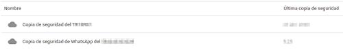 Cómo abrir una copia de seguridad de Google Drive desde el navegador paso 3