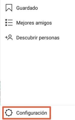 Cómo borrar el historial de búsqueda de Instagram desde el móvil paso 3