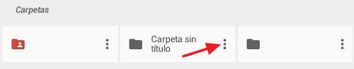 Cómo compartir carpeta en Google Drive desde el móvil mediante un enlace paso 1