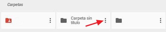 Cómo compartir carpeta en Google Drive desde el móvil mediante una invitacion paso 1