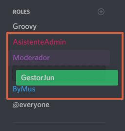 Cómo crear roles en Discord paso 10