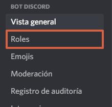 Cómo crear roles en Discord paso 5
