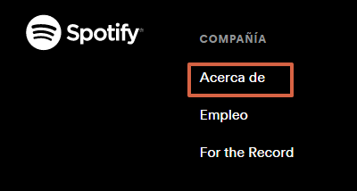 Cómo eliminar la cuenta en Spotify paso 2