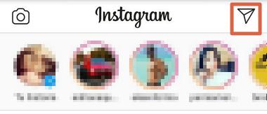 Cómo enviar DM en Instagram desde la app paso 1
