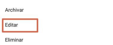 Cómo etiquetar a una cuenta en una publicación existente de Instagram paso 4