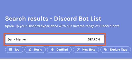 Cómo poner bots en Discord paso 2