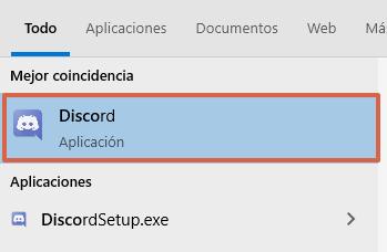 Cómo poner un estado en línea en Discord paso 1
