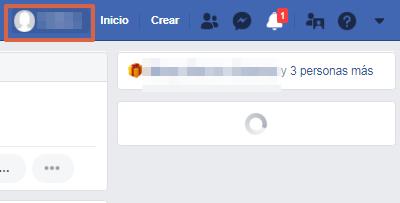 Cómo saber quién ve o visita mi Facebook paso 1