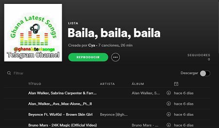 Cómo subir música a Spotify paso 13