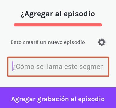 Cómo subir un podcast a Spotify desde Anchor paso 4