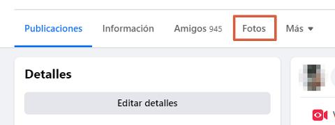 Cómo etiquetar personas o páginas en Facebook albumes de fotos.