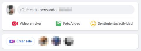 Cómo etiquetar personas o páginas en Facebook desde la PC Paso 1.