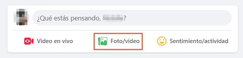 Cómo etiquetar personas o páginas en Facebook en el muro sin publicar paso 1