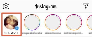 Compartir nuevas historias de Instagram paso 2
