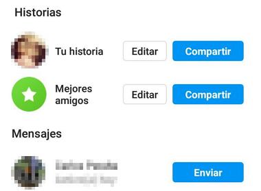 Compartir nuevas historias de Instagram paso 4