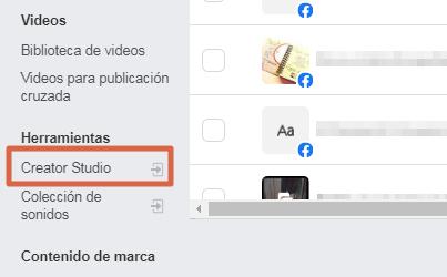 Crear una encuesta en página de Facebook paso 2