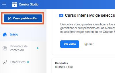 Crear una encuesta en página de Facebook paso 3