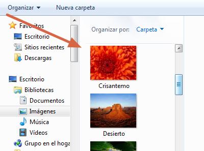 Etiquetar álbum de fotos sin publicar paso 2