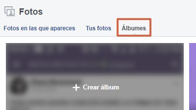 Etiquetar en álbum publicado en Facebook desde el ordenador paso 1