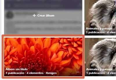 Etiquetar en álbum publicado en Facebook desde el ordenador paso 2
