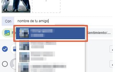 Etiquetar en foto de Faceboook publicada paso 5