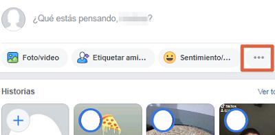 Hacer una encuesta en tu muro de Facebook paso 1