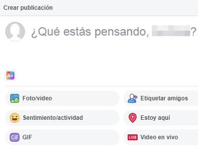 Hacer una encuesta en tu muro de Facebook paso 2