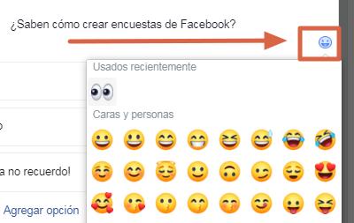 Hacer una encuesta en un grupo de Facebook paso 4