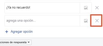 Hacer una encuesta en un grupo de Facebook paso 6
