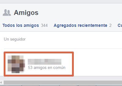 Saber quién te sigue en Facebook paso 6