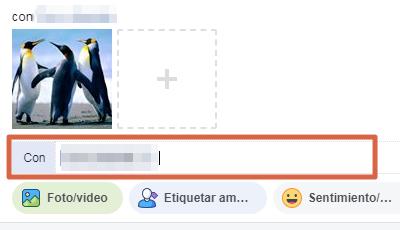 Subir y etiquetar foto en Facebook paso 6