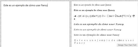 Usar FancyText para cambiar tipografia en la biografia de IG