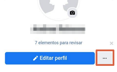 Ver tu perfil como si fueses otra persona en Facebook desde el navegador en tu móvil paso 2