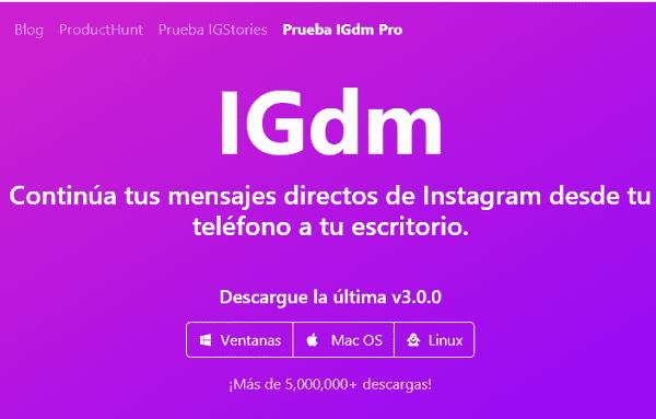 descargar IGdm