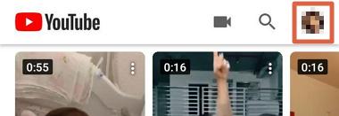 Cómo borrar el historial de visualizaciones o búsquedas de YouTube desde el móvil paso 1